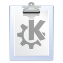 file, klipper, paste, document, paper, clipboard icon