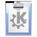 file, klipper, paste, document, paper, clipboard icon