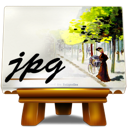 fichiers, jpg icon