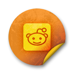 reddit, logo, square icon