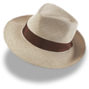 hat,linen,trilby icon