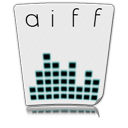aiff, paper, file, document icon