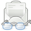 envelop, message, mail, gnome, mark, letter, email, read icon