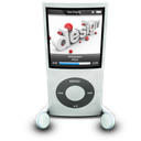 Ipod, Nano, White icon