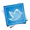 blueprint, social icon
