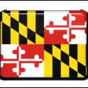 maryland,flag icon