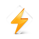 winamp,glass icon