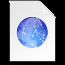 christmas internet Document icon