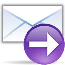 Message Ok Correct Arrow Mail Next Right Envelop Yes Email Forward Letter Icon Oxygen Refit Icon Sets Icon Ninja