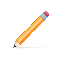 write, edit, writing icon