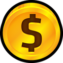 coin, currency, dollar, ecommerce, price, cent, quarter icon