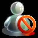blocked offline icon
