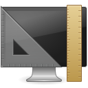 Apps display properties icon