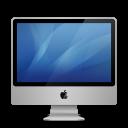 imac, aluminium, inch icon