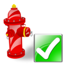 Fire, Ok, Plug icon