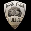 iowa, police, state icon