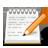 48, text, editor, gnome, accessories icon