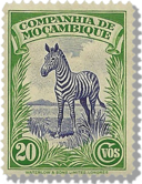 Mozambique zebra icon