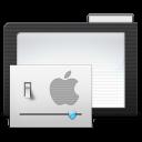 Folder Dark Preferences icon