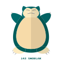 kanto, pokemon, normal, snorlax icon