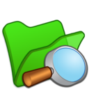 Folder green explorer icon
