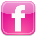flickr,badge,facebook icon
