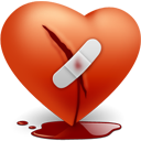 Broken, Day, Heart, Love, Valentines icon