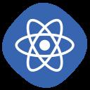 react js, react, js, logo icon