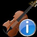 Info, Violin icon