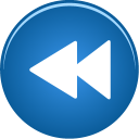 fast, backward icon