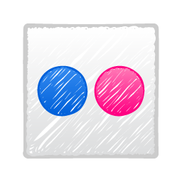 social media, flickr, social, social network icon