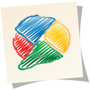 buzz, google, paper, google buzz icon