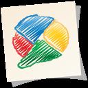 buzz, google, paper, google buzz icon