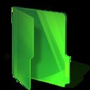 green,folder icon