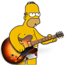garage, homer, band icon