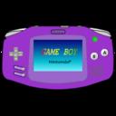 gameboy,advance,purple icon