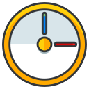 game, clock, time, play, pokemon, go icon