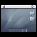 Desktop graphite icon