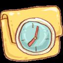 hp folder in progress icon