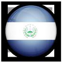 el, salvador, flag, of icon