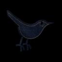 twitter bird 3 icon