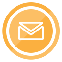 letter, envelope, email, contact icon