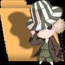Bleach Chibi Urahara folder icon