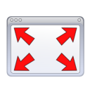 Fullscreen, Windows icon