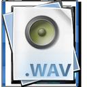 wav, file, audio icon