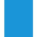blue, ambulance icon
