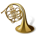 trumpet, music, instrument, horn, tuba icon
