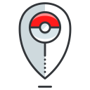 pokemon, go, location, play, game icon