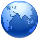 entire, earth, planet, world, network, globe, browser icon