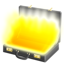 fiction, pulp, full, briefcase icon